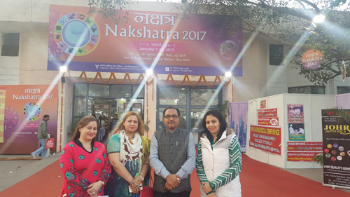 Nakshatra's Exhibition in Delhi